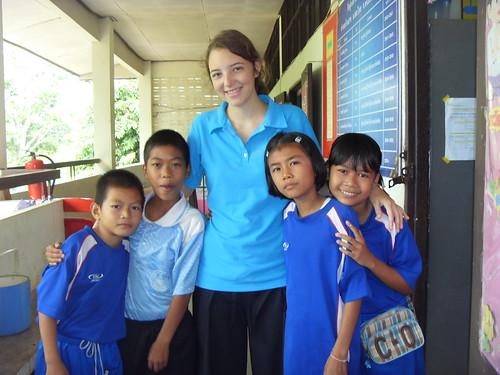 Volunteer Experience in Thai rural school.