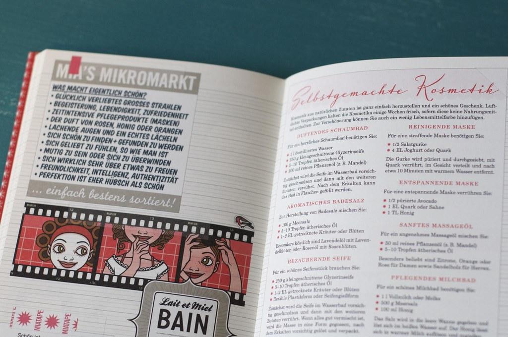 Foto vom Lily Lux Notizbuch und allen Dingen, die schön machen