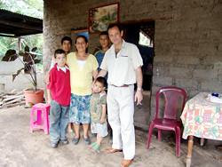 Panchito y su familia
