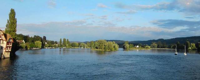 Stein am Rhein von Brücke