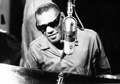 Ray Charles - Crop of shot before