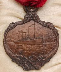 Titanic Carpathia Medal