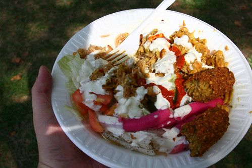 King Of Falafel Plate
