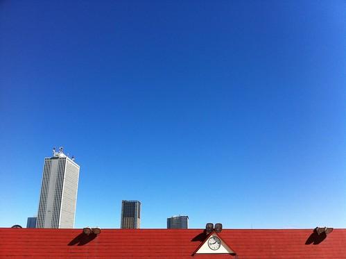 東武百貨店の屋上からサンシャイン2