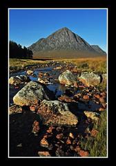 The Big Shepherd (marlesghillie) Tags: mountains river scotland morninglight glencoe buchailleetivemor bigshepherdofetive