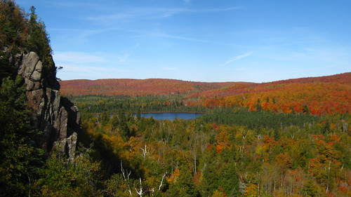 Autumn from Oberg Mountain