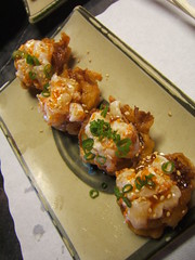 Sushi Pier - upside down tempura shrimp