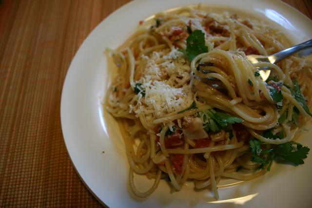 clam-sauce spaghetti by anna a la martha