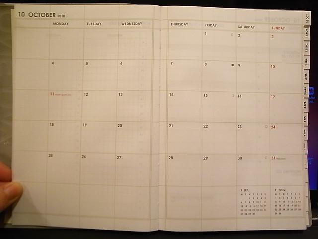 mark's diary 2011