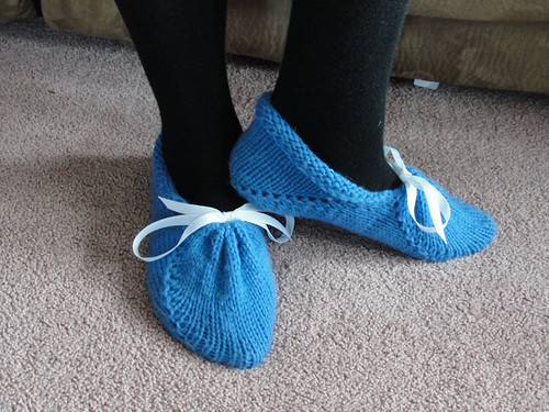 Graceful Slippers in Blue 2
