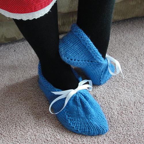 Graceful Slippers in Blue