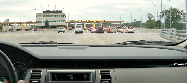 Crossing the Canada USA Michigan Border September 19, 2010