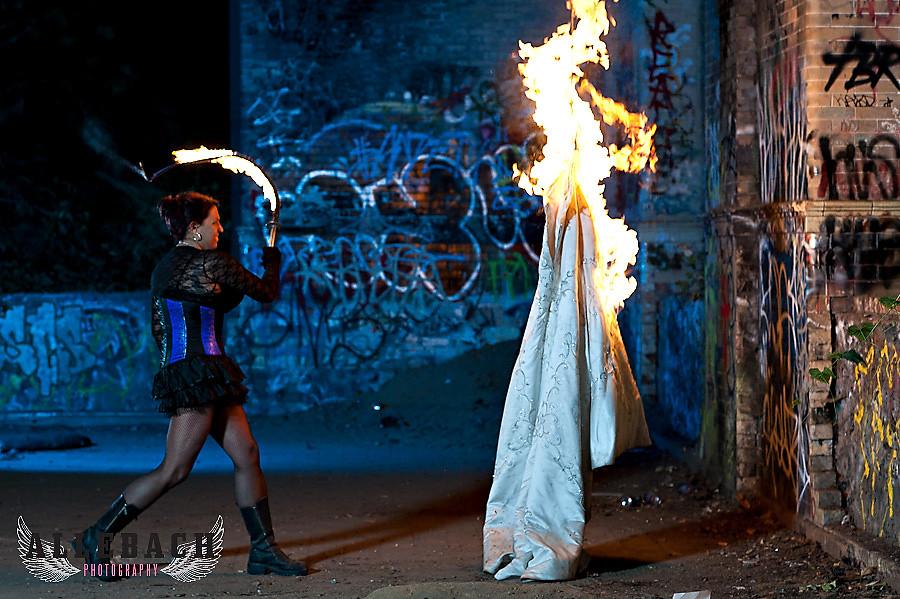 Fire Trash the Dress