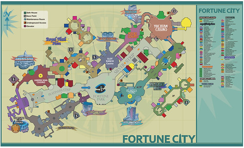 Dead Rising 2 Fortune City Map Guide