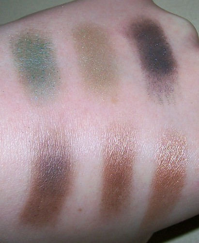 Urban Decay Vegan swatches
