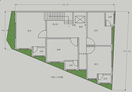 德化街套房規劃二樓以上