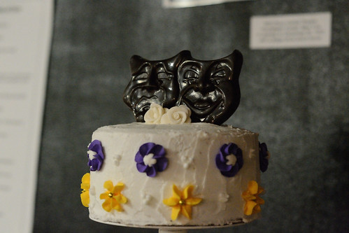 Top of the Wedding Cake - Nikon D3100 @ ISO 6400