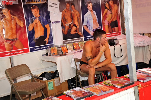 Next Door Studios Booth at the Folsom Street Fair