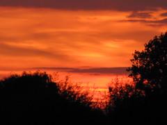 Zonsondergang, Sunset.  In Explore op