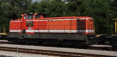 Cervignano Diesellok (Pacific11) Tags: railroad italien italy station train diesel tracks eisenbahn railway zug loco bahn lokomotive cervignano