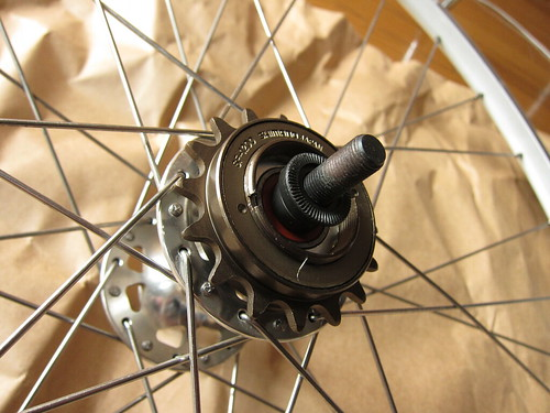 Install Freewheel Gear