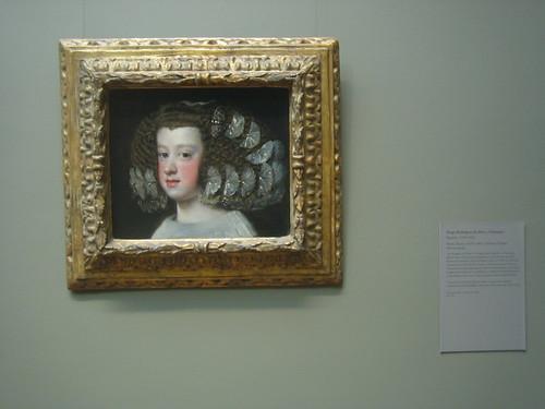 María Teresa (1638–1683), Infanta of Spain, 1651-54, Diego Rodríguez de Silva y Velázquez _8330