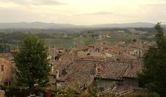 Unterwegs in  San Gimignano