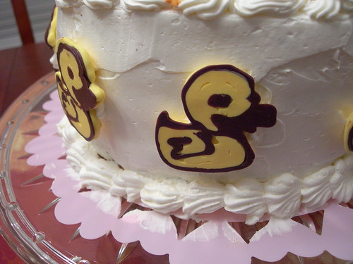 Happy Ducks on Cake