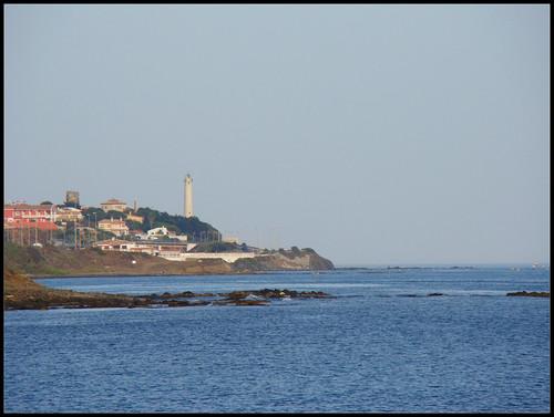 Faro desde Cala de Mijas