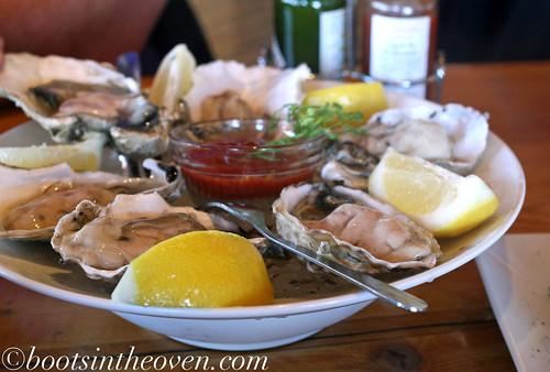 Half-dozen oysters