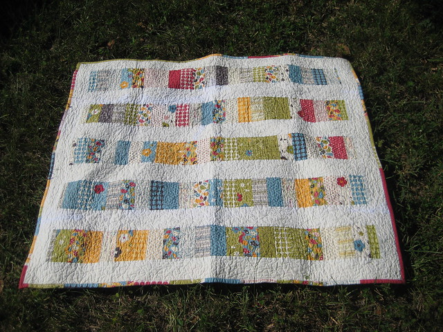Front of Make Life Coin Quilt