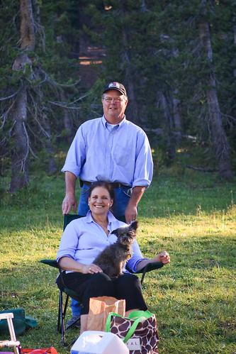 Carl and Nancy in Lassen