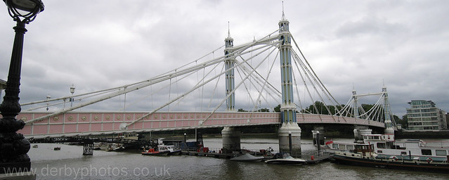 Albert Bridge panoramic Photograph