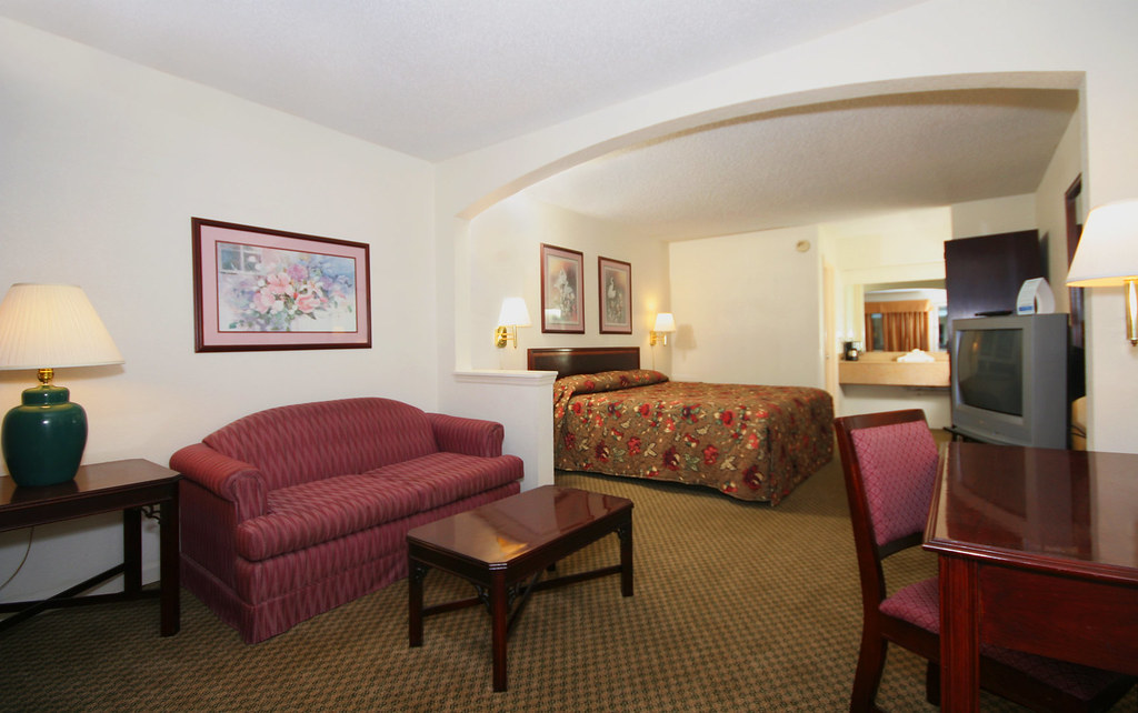 King Suite at Suburban Extended Stay in Florence, SC