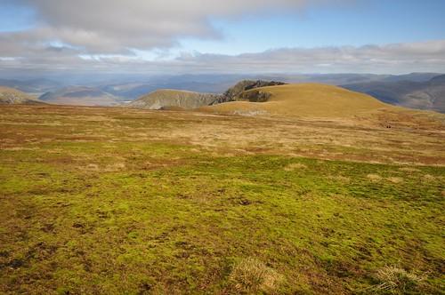 Creag Meagaidh Plateau leading to Puist Coire Ardair