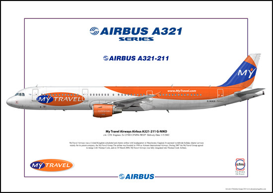 My Travel Airways Airbus A321-211 G-NIKO