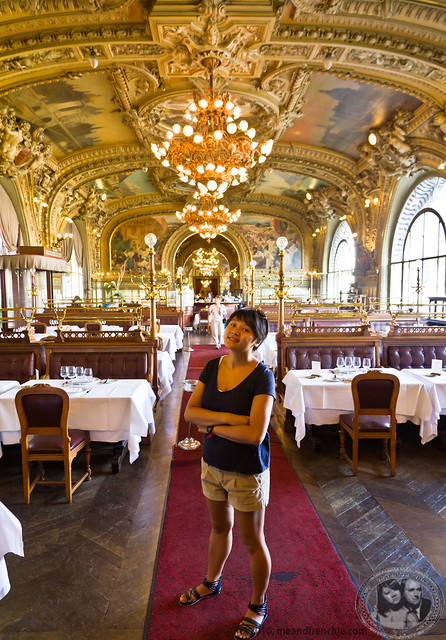 Inside Le Train Bleu