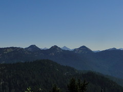 Views from Shriner Peak lookout.