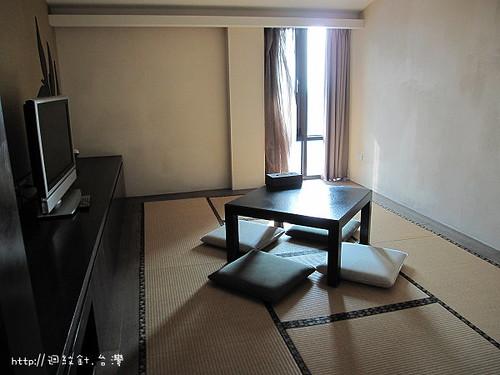太平洋溫泉度假飯店禪風湯房客房區