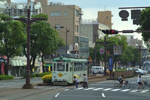 鹿児島市電(2003年7月)