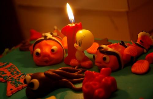 tort Nemo pentru micul nazdravan