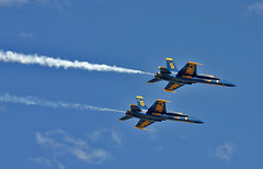 IMG_6793 (Oleg_Martynov) Tags: california blue military jets airshow angels planes marines blueangels miramar canonef100300mm