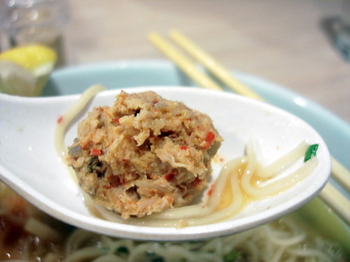 Marutama Ramen - Aka ramen meatball