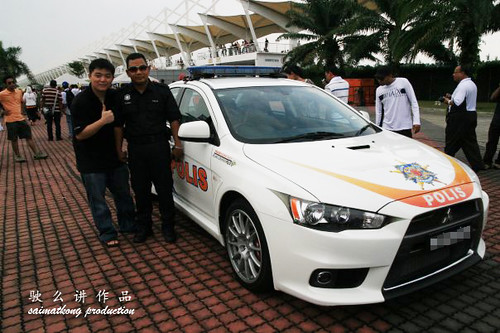 KIA Forte Is Now Malaysian Police CAR?