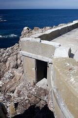 Tvennec : dtail du sud ouest du phare (BreizHorizons) Tags: lighthouse bretagne britanny phare finistre penarbed razdesein tvennec pharedetvennec