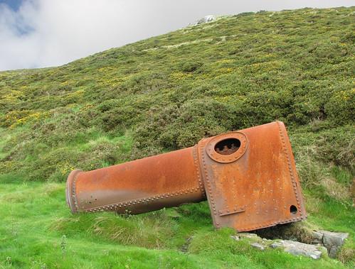 Rusty steam engine