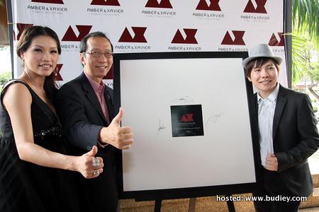 amber, TS Dr Koh Tsu Koon & Xavier Mah