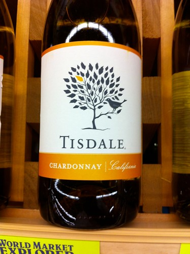 My favorite Wine Label - Tisdale