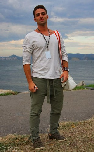 calça saruel masculina