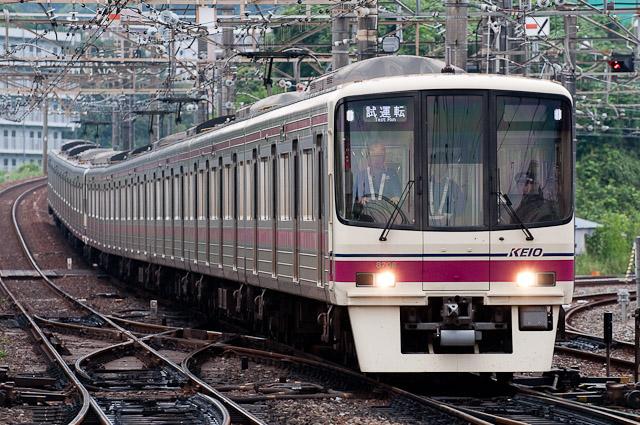 京王電鉄8000系8008F 試運転